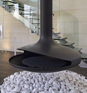 moderne gaskachel